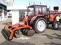 MTZ-820 Belarus Tractor at IndAgra Farm Romexpo 2010.JPG