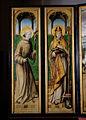 Maître de la Légende de sainte Ursule - Retable de saint François - Deux saints - volet gauche.jpeg