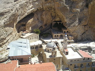 Maaloula - The monastic complex of Saint Thecla