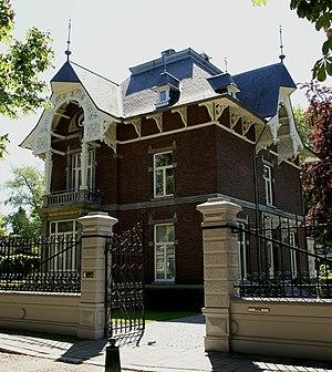 Villapark (Maastricht) - Image: Maastricht rijksmonument 506661 Sint Lambertuslaan 10 Villa Wilhelmina 20100523