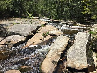 Mad River (Cocheco River tributary) - Ledges near River Road in Farmington, NH