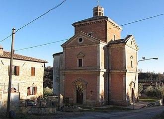 Chianciano Terme - Image: Madonna della rosa