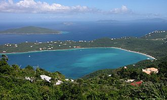 United States Virgin Islands - Magens Bay, St. Thomas.