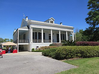 Jefferson, Louisiana - Whitehall Plantation House is a rare survivor from the area's plantation era