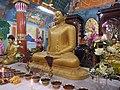 Mahabodhi Society - Kolkata - Prayer Room Idols I.jpg