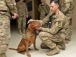 Maj. Eden brings major joy to service members 140121-F-KB808-081.jpg