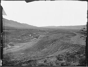 Malad City, Idaho - Malad, 1872. Photo by William Henry Jackson.