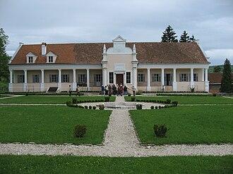Laslea - Apafi manor in Mălâncrav