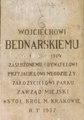 Malopolska Krakow ul Parkowa Park Bednarskiego napis A-586.tif