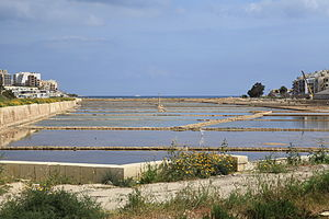 Ximenes Redoubt - Ximenes Redoubt eventually became a warehouse storing salt from the nearby Salina salt pans