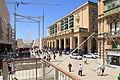 Malta - Valletta - Triq Ir-Repubblika + City Gate 01 ies.jpg