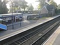 Malvern Link station - shafts of light on a misty morning - geograph.org.uk - 998671.jpg