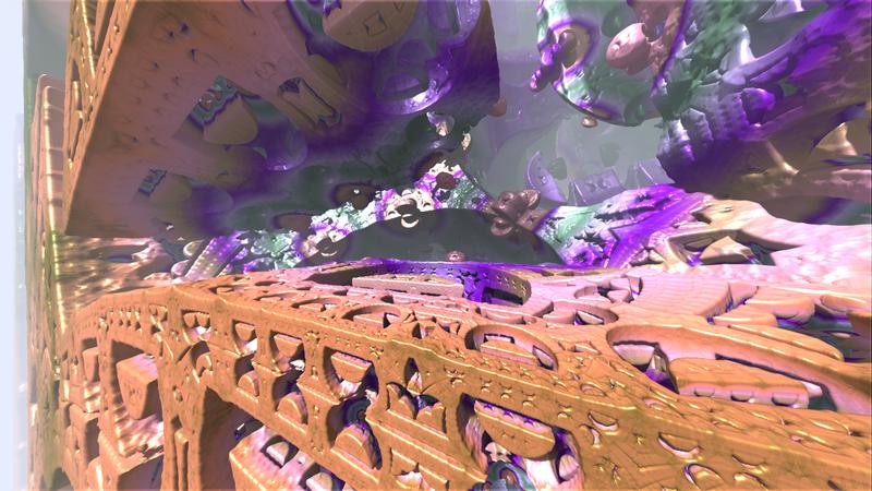 Amazing #3D #fractals with #Mandelbulber