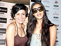 Mandira Bedi at Van Heusen Men's Fashion Week model auditions 06.jpg