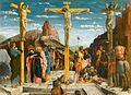 Mantegna, Andrea - crucifixion - Louvre from Predella San Zeno Altarpiece Verona.jpg