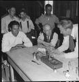 Manzanar Relocation Center, Manzanar, California. Doctor Robert Emerson, bio-chemist and botanist f . . . - NARA - 538036.tif