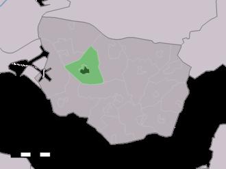 's-Heerenhoek - Image: Map NL Borsele 's Heerenhoek