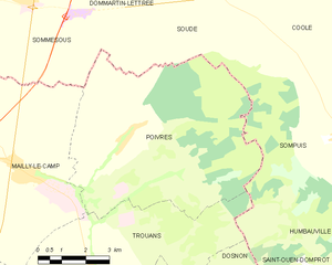 Map commune FR insee code 10293.png