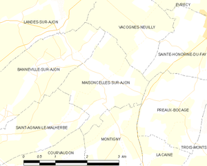 Map commune FR insee code 14390.png