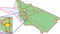 Map of Oulu highlighting Karjasilta.png