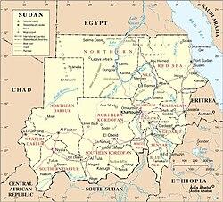Giografia Del Sudan Wikipedia