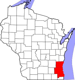 Map of Milwaukee-Racine-Waukesha Consolidated ...