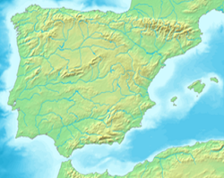 Mazaleón is located in Iberia
