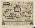 Mappa aestivarum insularum, alias Barmudas dictarum, ad ostia Mexicani aestuarij jacentium in latitudine graduum 32 minutorum 25 - Ab Anglia, Londino Scilicet versus Libonotum 3300 miliaribus (4586547685).jpg