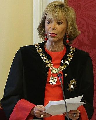 María Teresa Fernández de la Vega - Image: María Teresa Fernández de la Vega, Presidenta del Consejo de Estado 2018 (Cropped)