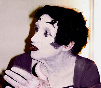 English: Marcel Marceau