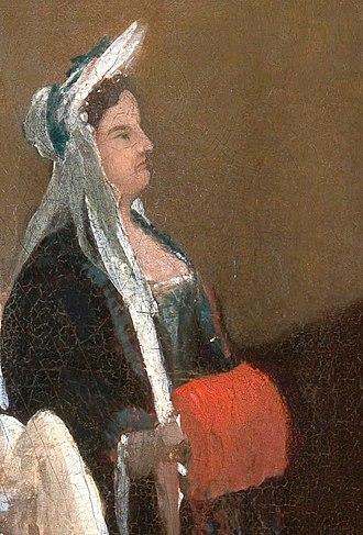 Jakob Greber - Margherita de L'Epine, Greber's mistress during his London years
