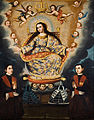 Marcos Zapata y taller - Seated Madonna with Graduation of the García Brothers - Google Art Project.jpg