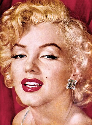 Monroe in a studio publicity photograph, year unknown
