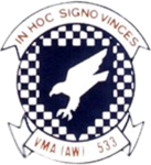 Marine All-Weather Attack Squadron 533 insignia c1984.png