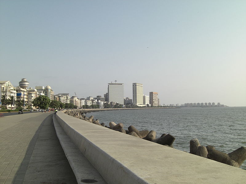 How Nariman Point/Marine Drive looks
