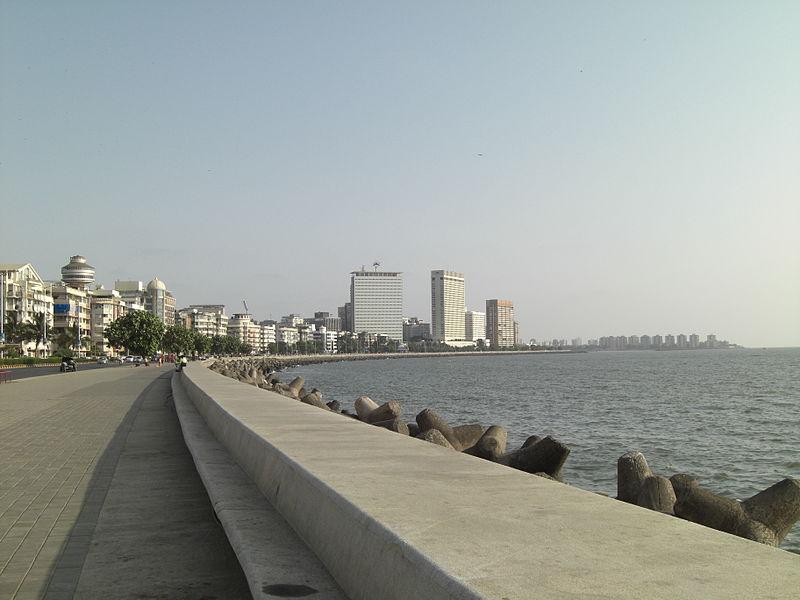 How Nariman Point/Marine Drive looks