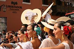 Marinera festival in Trujillo
