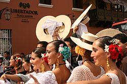 Marinera festival in Trujillo
