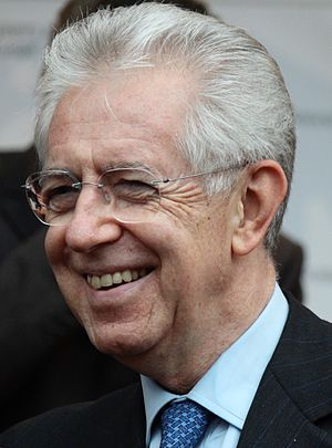 Civic Choice - Mario Monti, former Prime Minister and party's founder