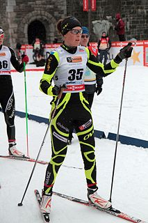 Marion Buillet French cross-country skier