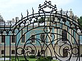 Mariyinsky Palace Viewed through Gate - Kiev - Ukraine (29868127888).jpg