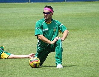 Mark Boucher - Mark Boucher training at the Sydney Cricket Ground in January 2009
