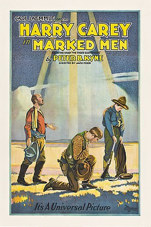 Marked Men (1919 film) - Theatrical poster to Marked Men (1919)