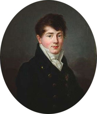 Prince William of Baden - Wilhelm of Baden, painting attributed to Philipp Jacob Becker