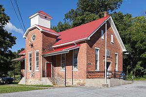 Marklesburg, Pennsylvania - The former James Creek School