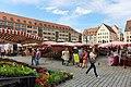 Marktstände, Hauptmarkt, Nürnberg, 2014 (02).JPG