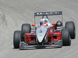 German Formula Three Championship - Markus Winkelhock driving a Dallara-Mercedes at the Sachsenring