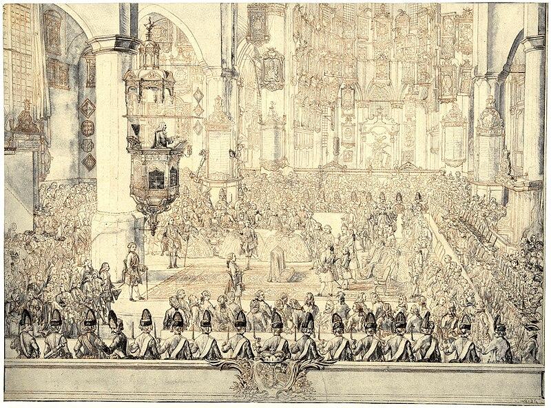 File:Marriage of prince Karl Christian of Nassau-Weilburg with princess Carolina of Orange-Nassau.jpg