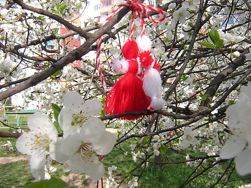 Image result for Baba Marta Day (Martenitsa)