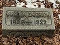 Martin Emerich's grave at Rosehill Cemetery, Chicago.jpg
